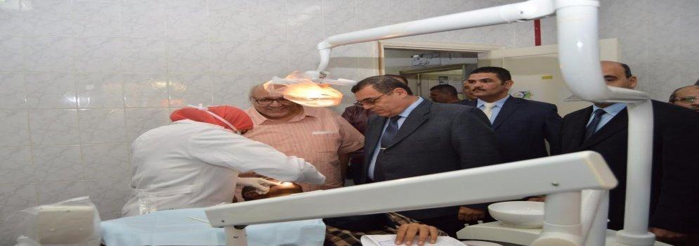 اليوم الثالث للقافلة التموية الشاملة بالفيوم: رئيس جامعة عين شمس تفقد المركز الصحى لمنشأة طنطاوى