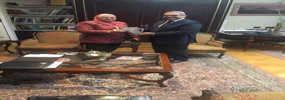ألسن عين شمس توقع اتفاقية تعاون مع الهيئة العامة للإستعلامات