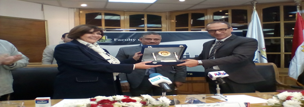 توقيع بروتوكول تعاون بين كلية الآداب والهيئة المصرية العامة للكتاب