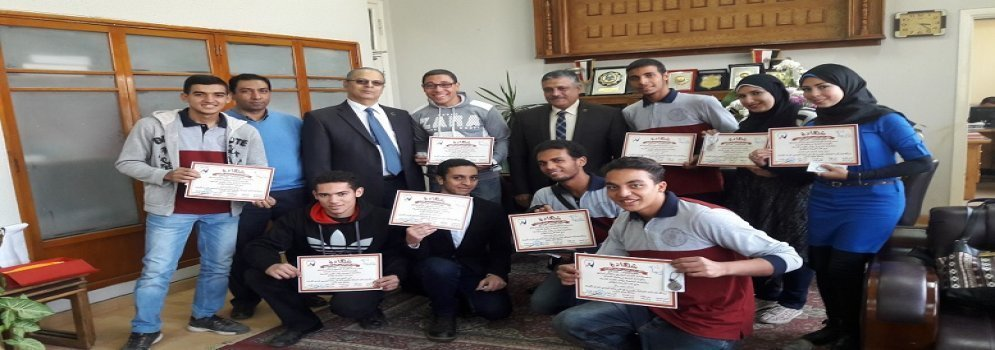 Faculty of Agriculture honor students excelling in the field of scientific activity