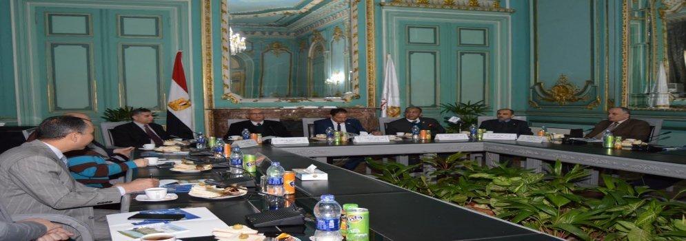 Protocole de coopération entre l'Université Ain Shams et Arab Contractors Company