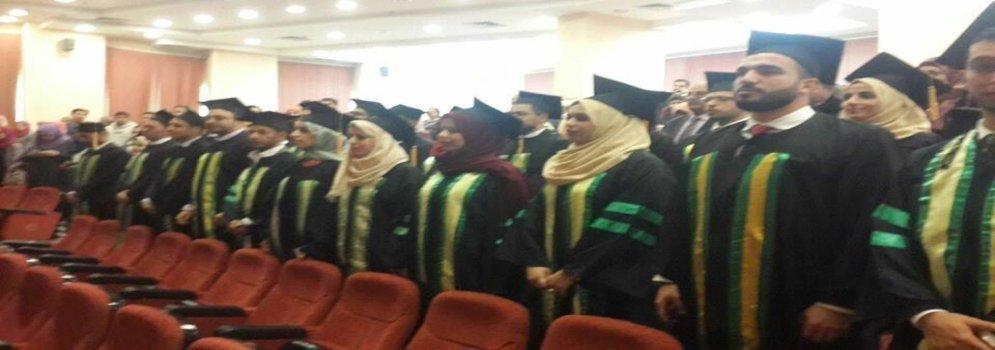 Une cérémonie de remise des diplômes d'étudiants expatriés à la Faculté de medicine