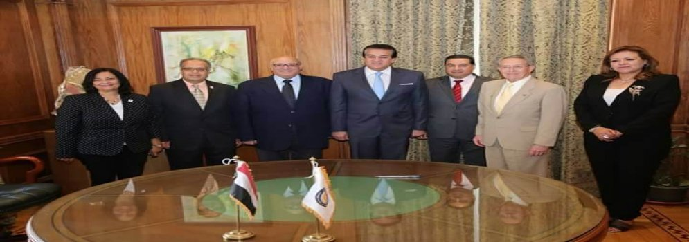 Minister of Higher Education witness signing of cooperation protocol to establish community service faculties in Egypt