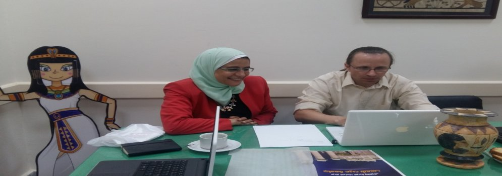Egyptian-German cooperation in the field of papyrus and restoration at Ain Shams University