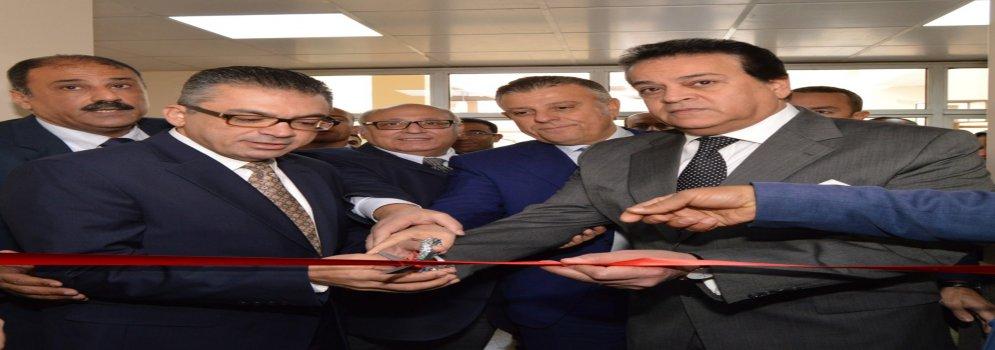 وزير التعليم العالي يشهد عدد من الافتتاحات الجديدة بعين شمس التخصصي بتكلفة 200 مليون جنيه