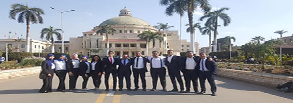 تجارة عين شمس تفوز بالمركز الأول في مسابقة ديلويت Deloitte للمحاسبة والمراجعة بين الجامعات المصرية